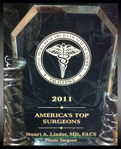 America's Top Plastic Surgeons 2011 Award