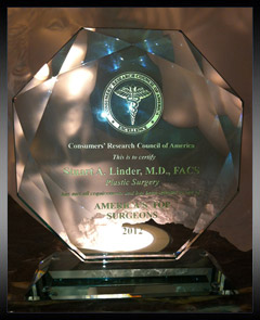 America's Top Plastic Surgeons 2012 Award