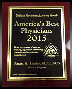 America's Best Physicians 2015 award